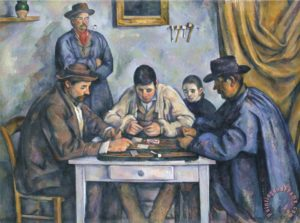 The Card Players, by Paul Cézanne